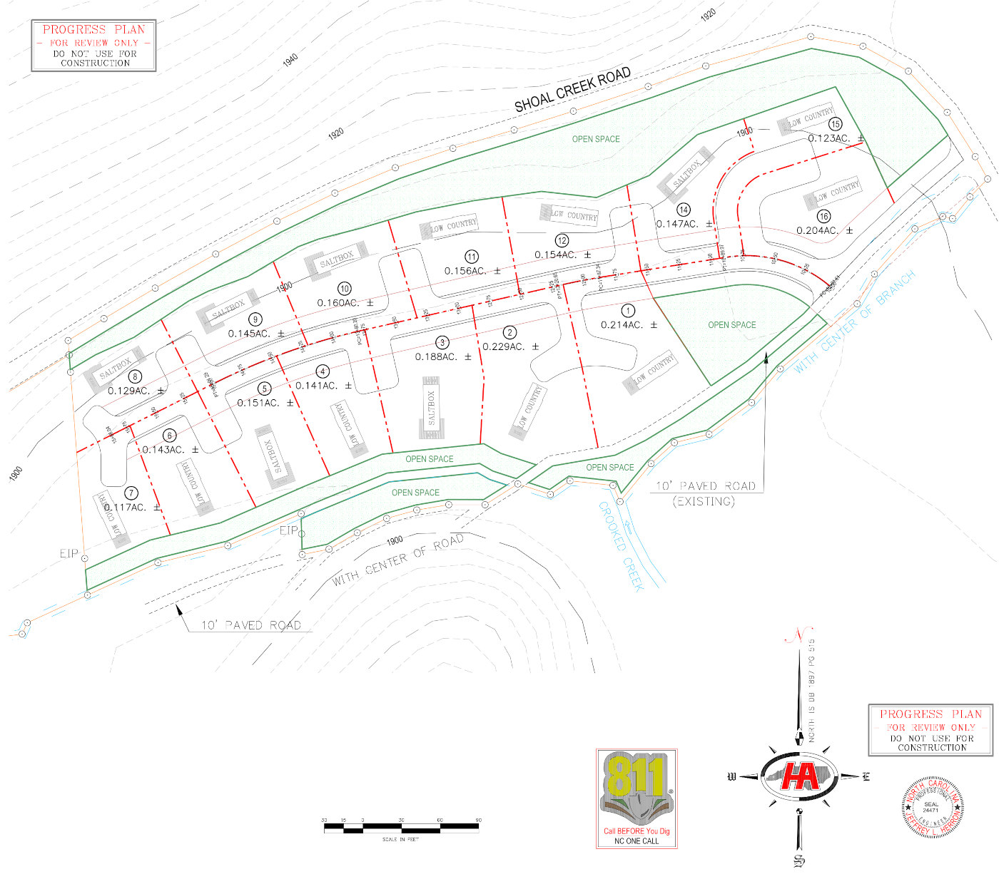 The Preserve At Crooked Creek Siteplan
